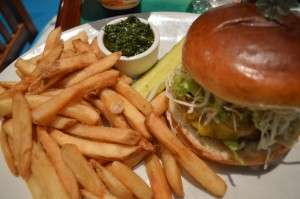 The Chimichurri Burger
