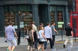 Fallon and his team at Diagon Alley from one of our readers!